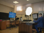 Video studio facilities for recording online courses were presented at FESTFU