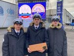 Celebrations of the crews of three sailing ships were held in Kaliningrad