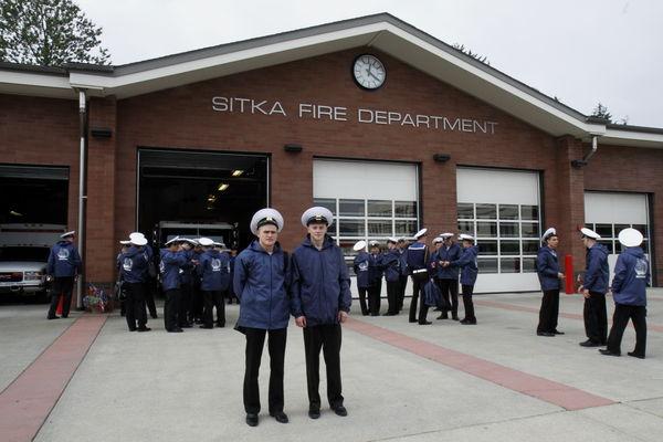 Экскурсия на пожарную станцию города Ситке