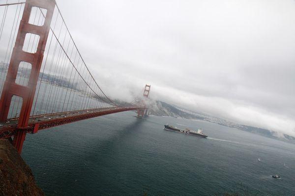 Знаменитый мост «Golden Gate»
