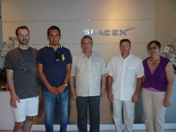 Экскурсия по SpaceX — американской компании-производителя космических ракет Falcon