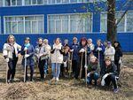 Студенты и работники Дальрыбвтуза завершили благоустройство территории