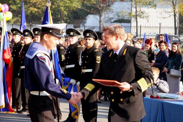 Курсанты также были удостоены высоких наград