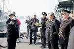 Доклад капитана УПС «Паллада» о благополучном завершении рейса