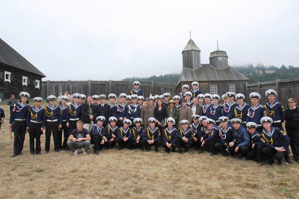 На память о посещении крепости Форт-Росс