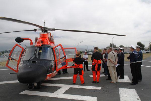 Экскурсия на базу Береговой охраны США
