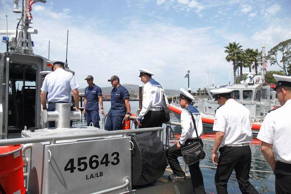 С дружественным визитом курсанты посетили базу Береговой охраны США