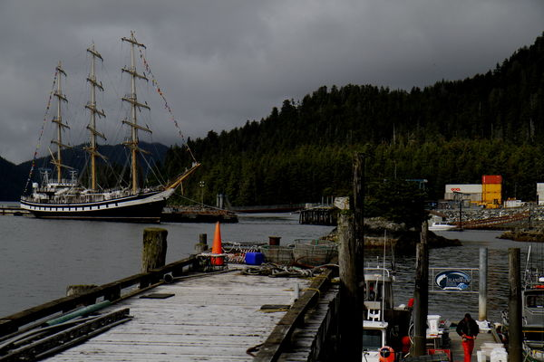 УПС «Паллада» зашла во второй порт в рамках Международной транстихоокеанской экспедиции — Ситке