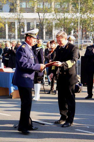 По итогам рейса многие его участники удостоились наград от Росрыболовства