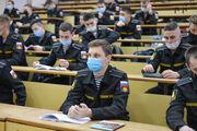 Первый экзамен сдали курсанты Военного учебного центра Дальрыбвтуза