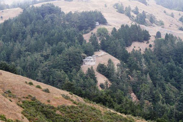 В рамках визита в Сан-Франциско экипаж и курсанты посетили крепость Форт-Росс