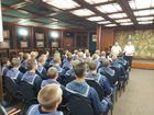 Замруководителя Росрыболовства посетил УПС «Паллада» и барк «Седов»