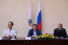 Студенты Дальрыбвтуза встретились с главой Росрыболовства