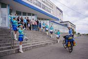 Вымпел велопробега «КГТУ – Планета – Спорт» достиг вуза-побратима
