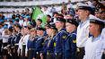 Лицеисты Дальрыбвтуза на Всероссийском слёте моряков