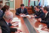 Руководство Дальрыбвтуза встретилось с Андреем Тарасенко