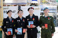 Военные медали вручены юным патриотам Родины