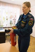 Студентам Дальрыбвтуза провели лекцию о пожарной безопасности