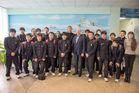 Курсанты из Японии посетили Дальрыбвтуз
